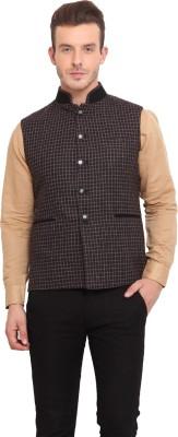 Ennoble Checkered Men's Waistcoat