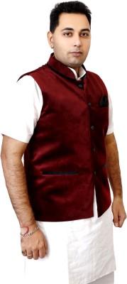 Sparkily Fashion Solid Men's Waistcoat