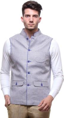 Yell Checkered Men's Waistcoat