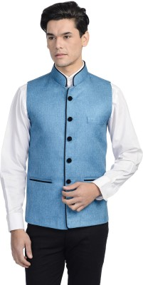 Wintage Solid Mens Waistcoat