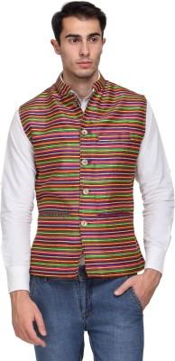 Sobre Estilo Checkered Men's Waistcoat