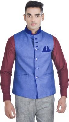 Bluethreads Solid Men's Waistcoat
