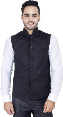 Bluethreads Brook's Waistcoat Solid Men's Waistcoat