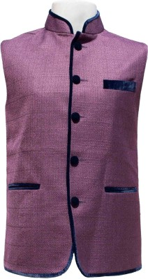 STAPLES Solid Men's Waistcoat