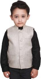 Fashion N Style Solid Boys Waistcoat