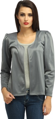 Cottinfab Full Sleeve Solid Women's Jacket at flipkart