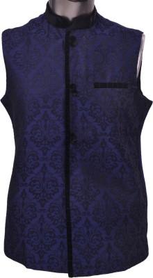 Manyavar Trendy Self Design Men's Waistcoat