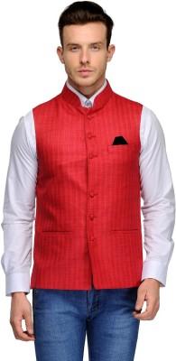 Platinum Studio Striped Men's Waistcoat