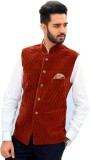 Men In Class Self Design Men's Waistcoat