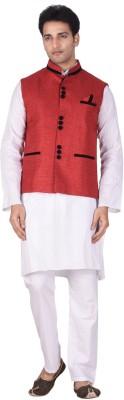Jamaibabu Solid Men's Waistcoat