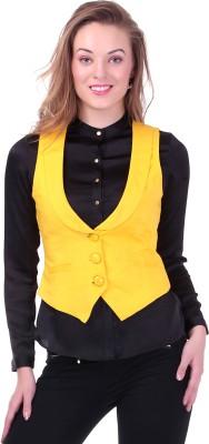 Sassafras Solid Women's Waistcoat