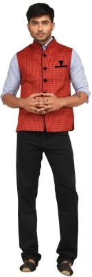 Jamaibabu Woven Men's Waistcoat