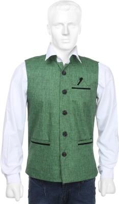 SelfieSeven Smart Fit Solid Men's Waistcoat