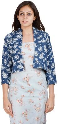 Abony Floral Print Women's Waistcoat