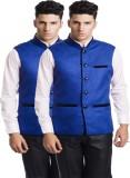 shivam garments Solid Men's Waistcoat