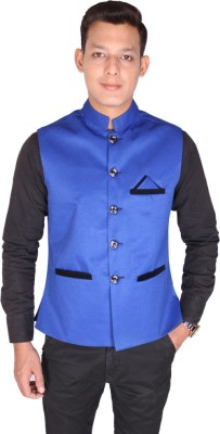 Shaurya-F Solid Men's Waistcoat