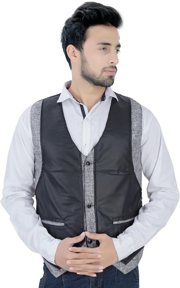 V-Mens Solid Men's Waistcoat
