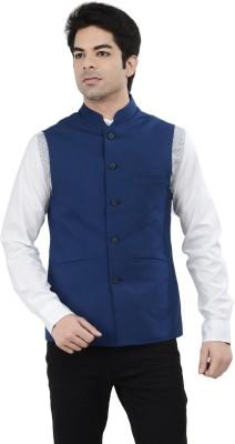 London Bridge Clothing Company Solid Men's Waistcoat