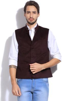 Arrow Self Design Men's Waistcoat
