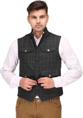Canary London Checkered Men's Waistcoat