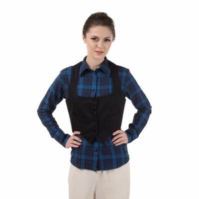 Le Luxe Solid Women's Waistcoat