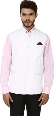 DesiDapper Classy Appeal Solid Men's Waistcoat