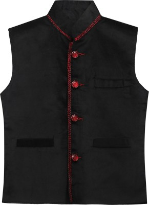 Civvies Solid Boy's Waistcoat