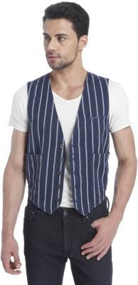 Jack & Jones Striped Men's Waistcoat