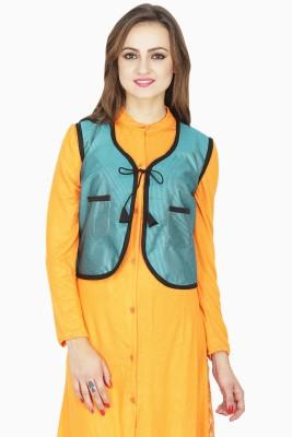 Lalana Solid Women's Waistcoat