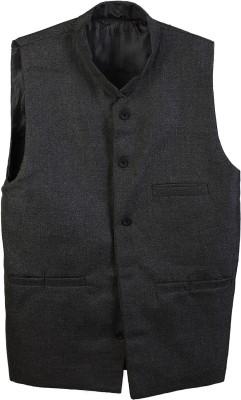 SelfieSeven Solid Men's Waistcoat