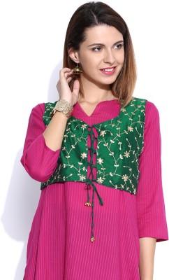 Anouk Embroidered Women's Waistcoat