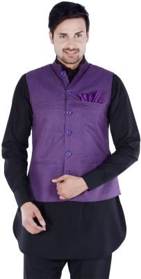 Forge Self Design Men's Waistcoat