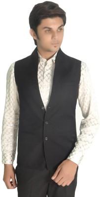R.K. Garments Solid Men's Waistcoat