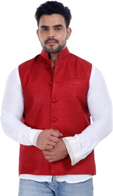 Addicted Self Design Men's Waistcoat