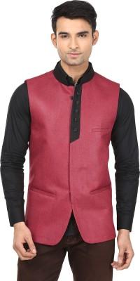 Qdesigns Solid Men's Waistcoat