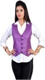 Jazzy Ben short Solid Women's Waistcoat
