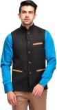 Canary London Solid Men's Waistcoat