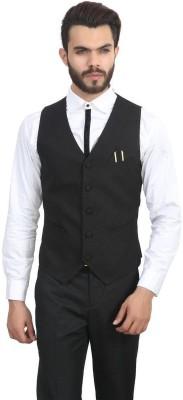 Menjestic Solid Men's Waistcoat