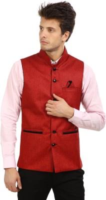 Antario Solid Men's Waistcoat