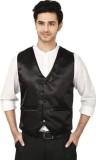 Attitude Works Solid Men's Waistcoat