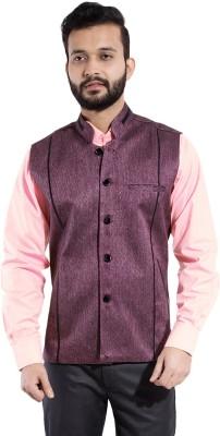 Fast Look Solid Men's Waistcoat