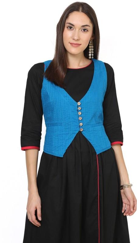 Aana Solid Women's Waistcoat