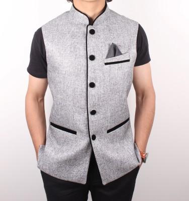 Latin Ferrante Solid Men's Waistcoat