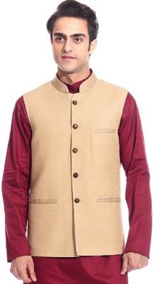 TAG 7 Rajwada Solid Men's Waistcoat