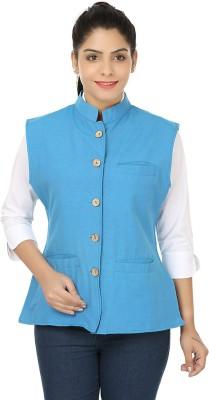 Meadows Self Design Women's Waistcoat