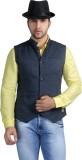 Nostrum Jeans Self Design Men's Waistcoa...