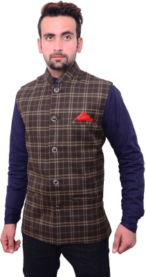 Hartmann Checkered Men's Waistcoat