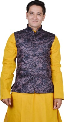 Sk Suppliers Printed Men's Waistcoat