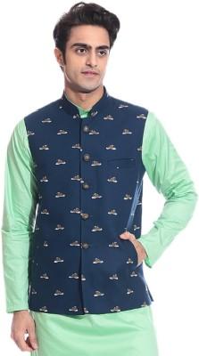 TAG 7 APPEALING Printed Men's Waistcoat