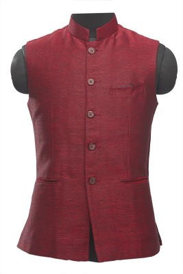 Manyavar Elegant Solid Men's Waistcoat